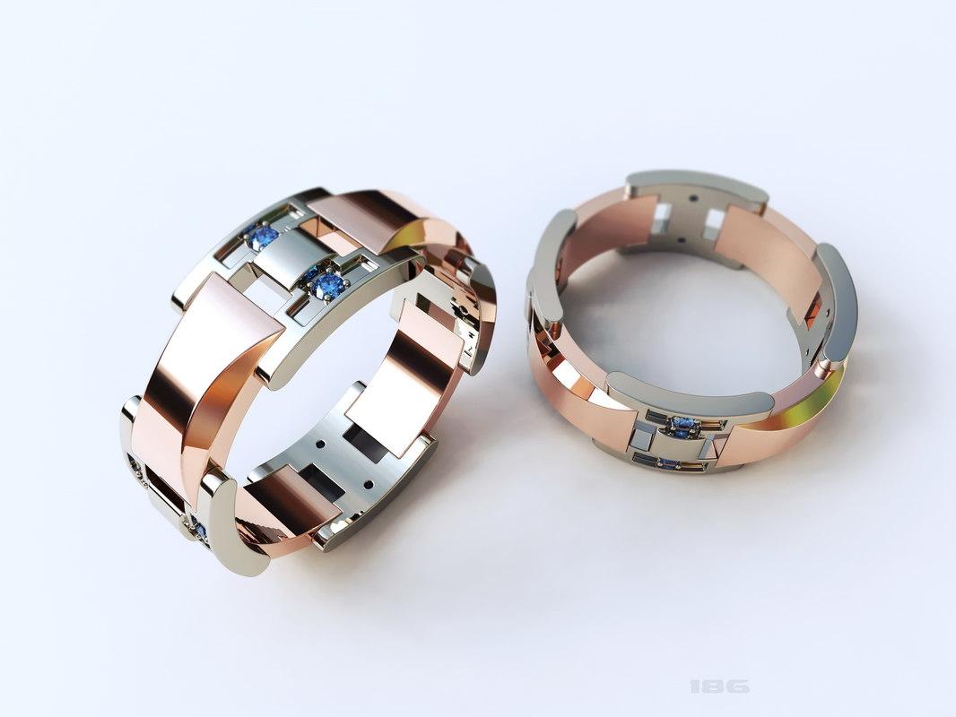 stl cnc gold 3D model