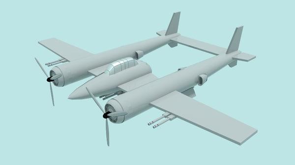 war fighter guns 3D model