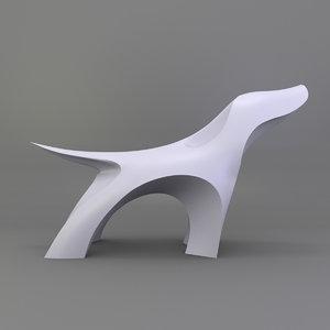 stylized dog 3D