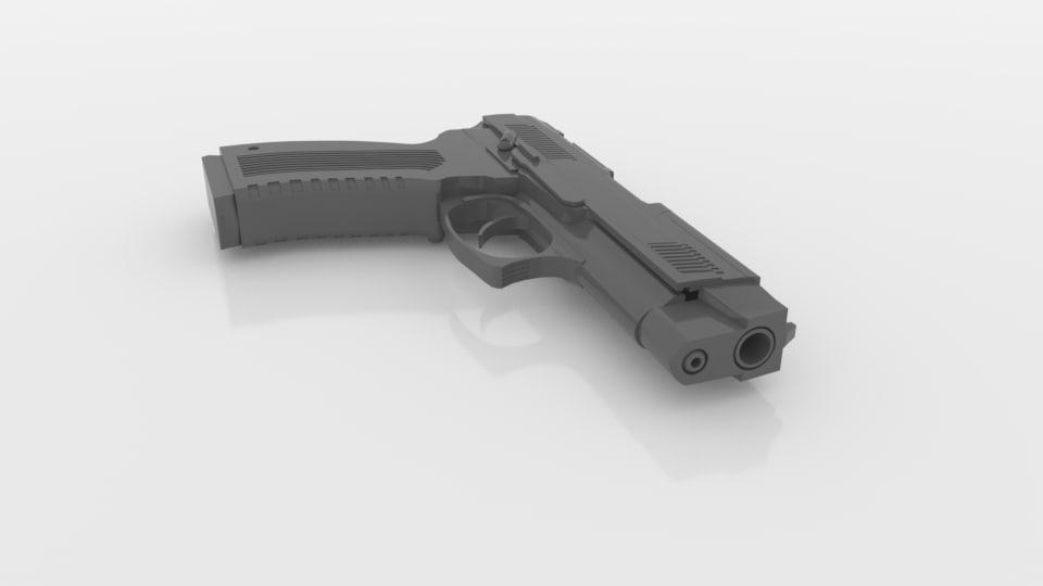 3D mp443 gratch model