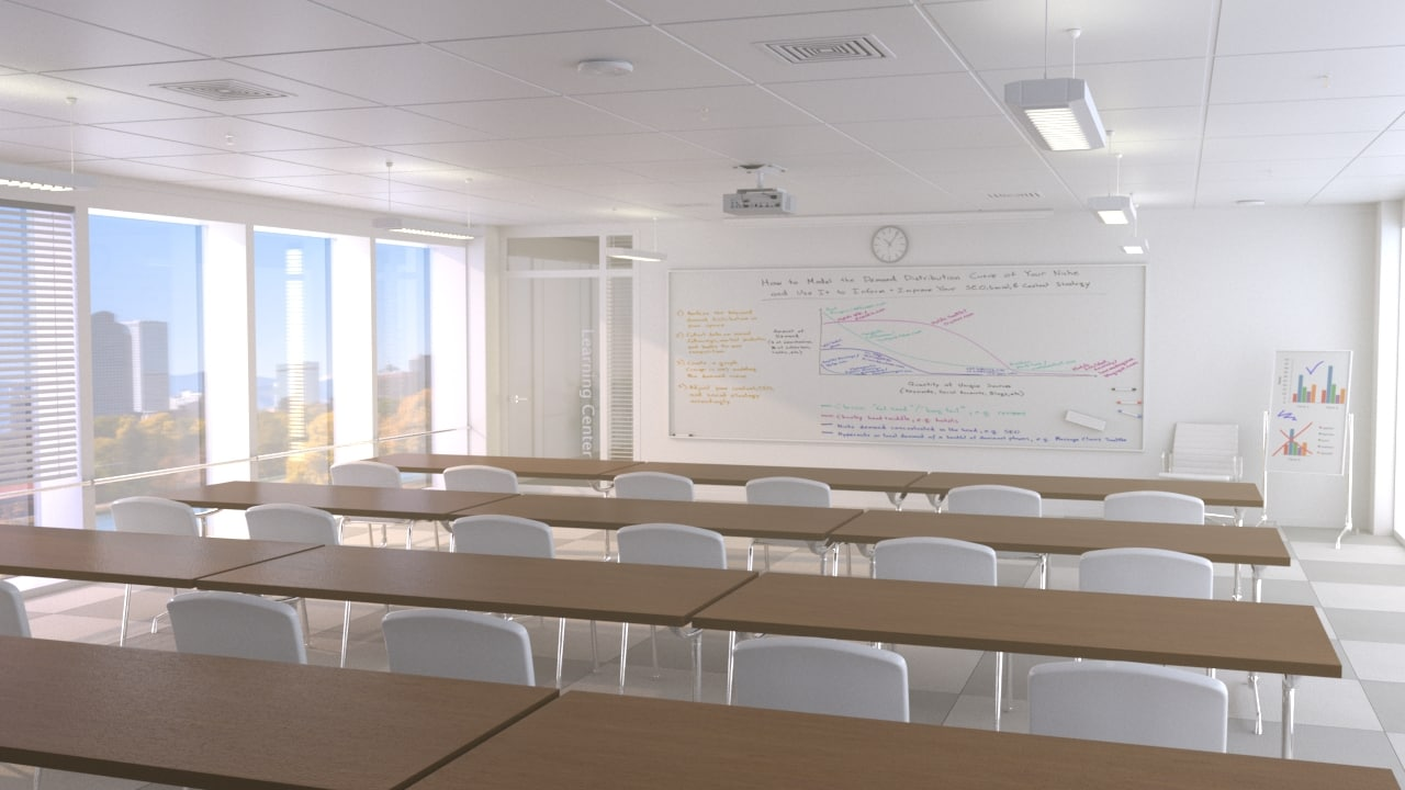3d design learning center turbosquid 1236831 for Learn interior design