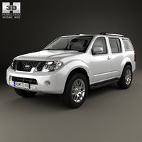 3D nissan pathfinder hq model