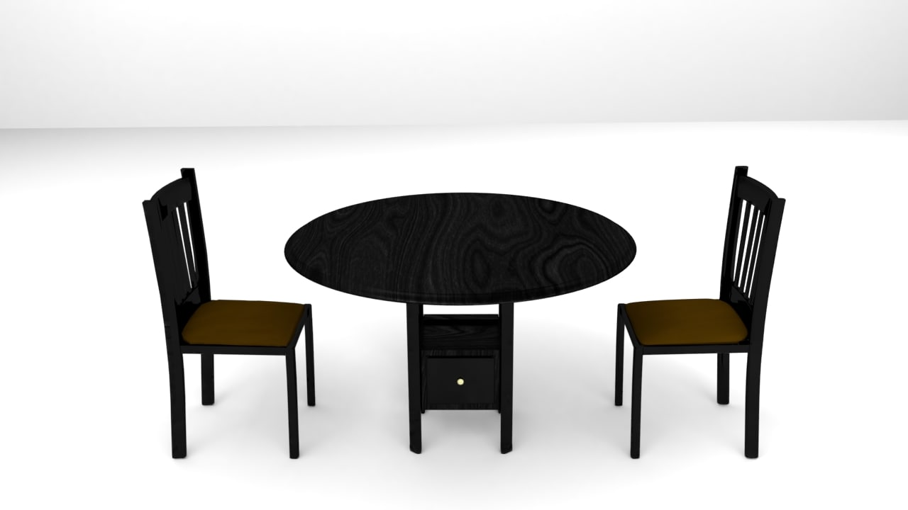 modern table set model