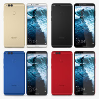 3D huawei honor 7 model