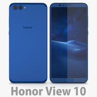 3D model huawei 10 honor