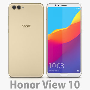 huawei 10 honor 3D model