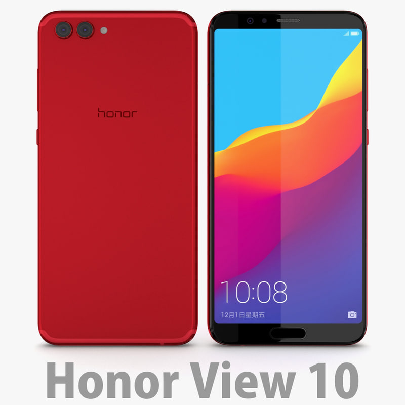3D huawei 10 honor model