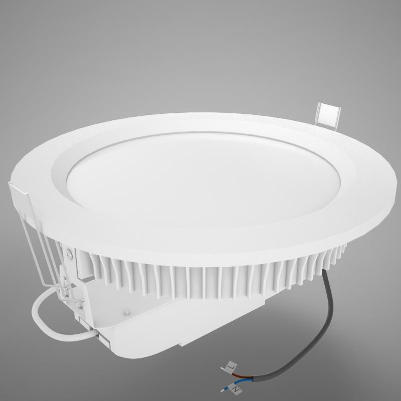 led downlight 3D model