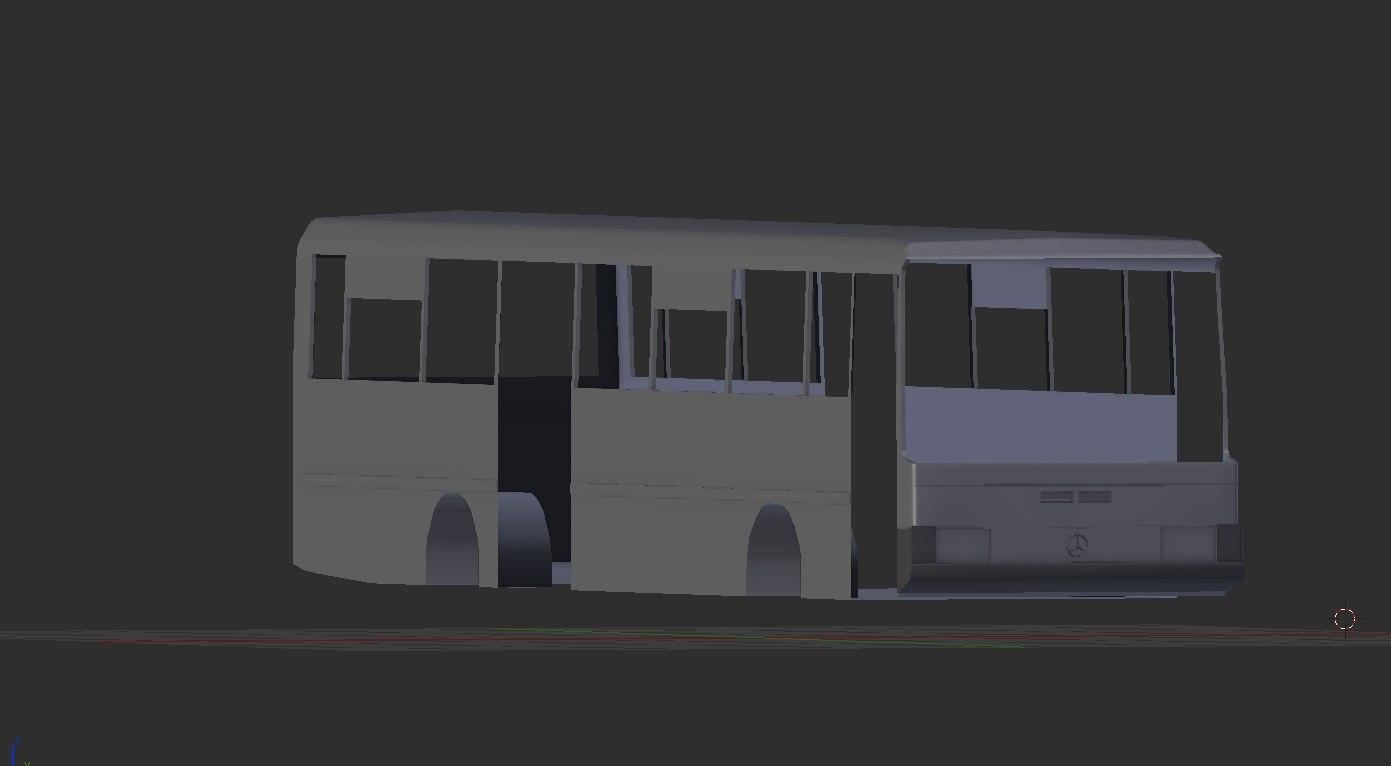 mercedes o408 3D model