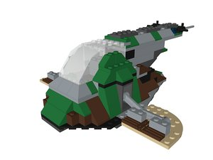 lego star wars bounty 3D model
