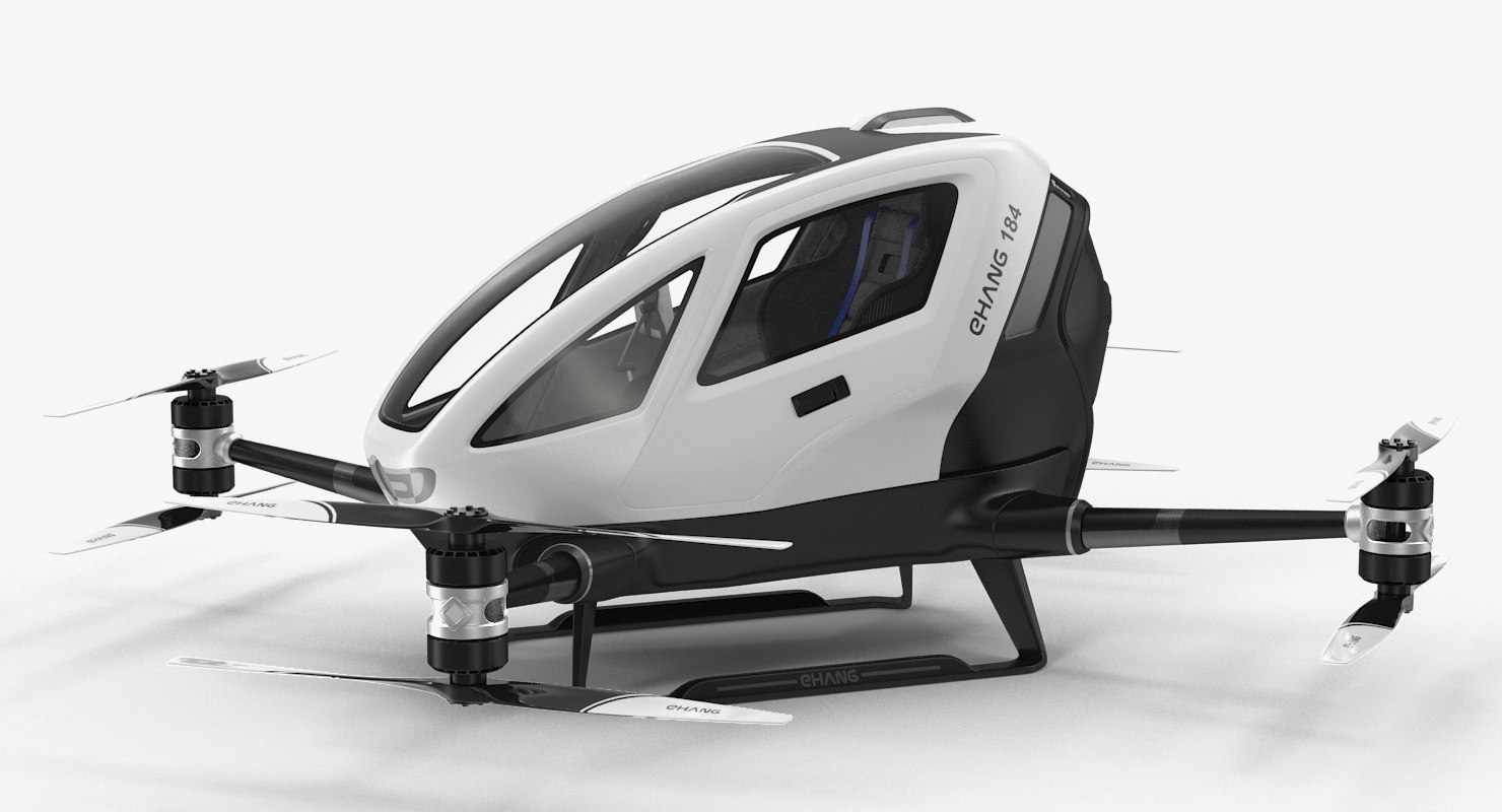 autonomous aerial vehicle ehang 3D model
