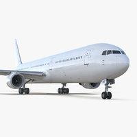 boeing 767-400er generic 3D model