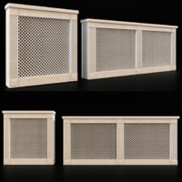 3D traditional radiator screen