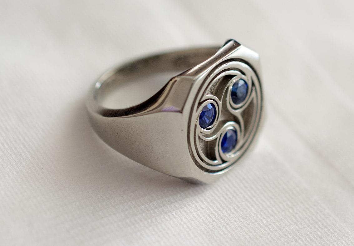 3D celtic ring model