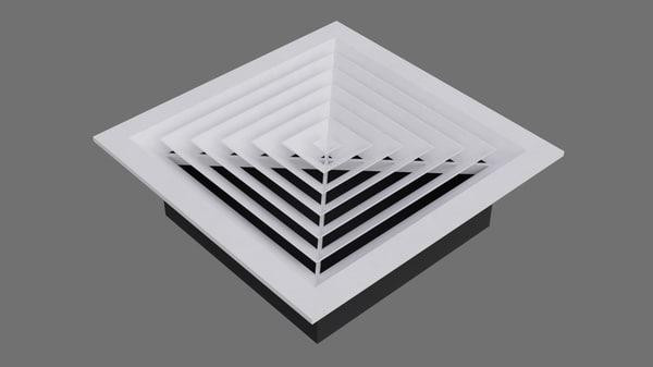 3D air vent 3a