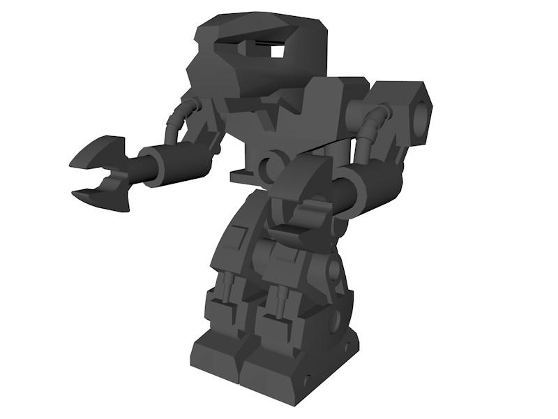 lego engineering droid model