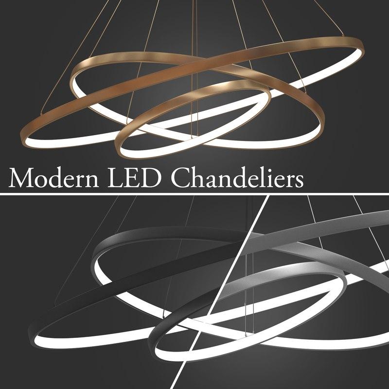 3D led 3 rings