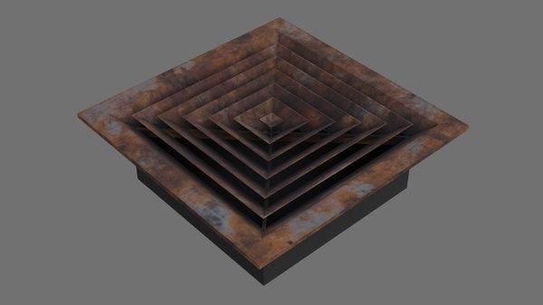 air vent 3b 3D