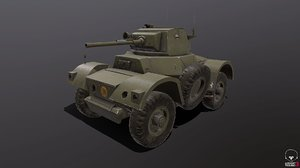 daimler armoured car model