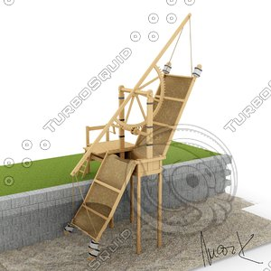 water pump 3D