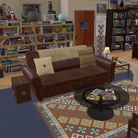 TBBT Sheldon Living room