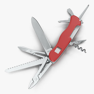 3D multipurpose swiss knife