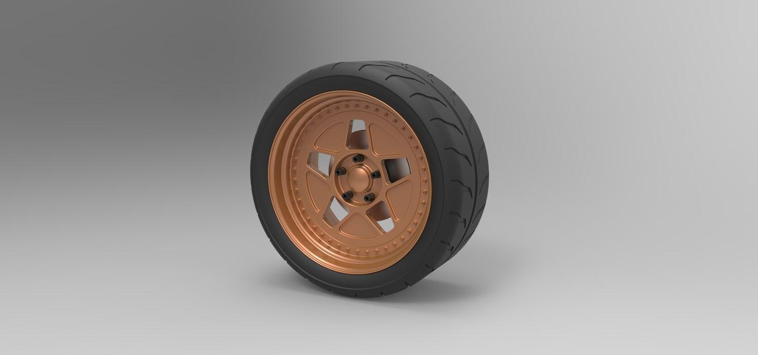 wheel sport 3D