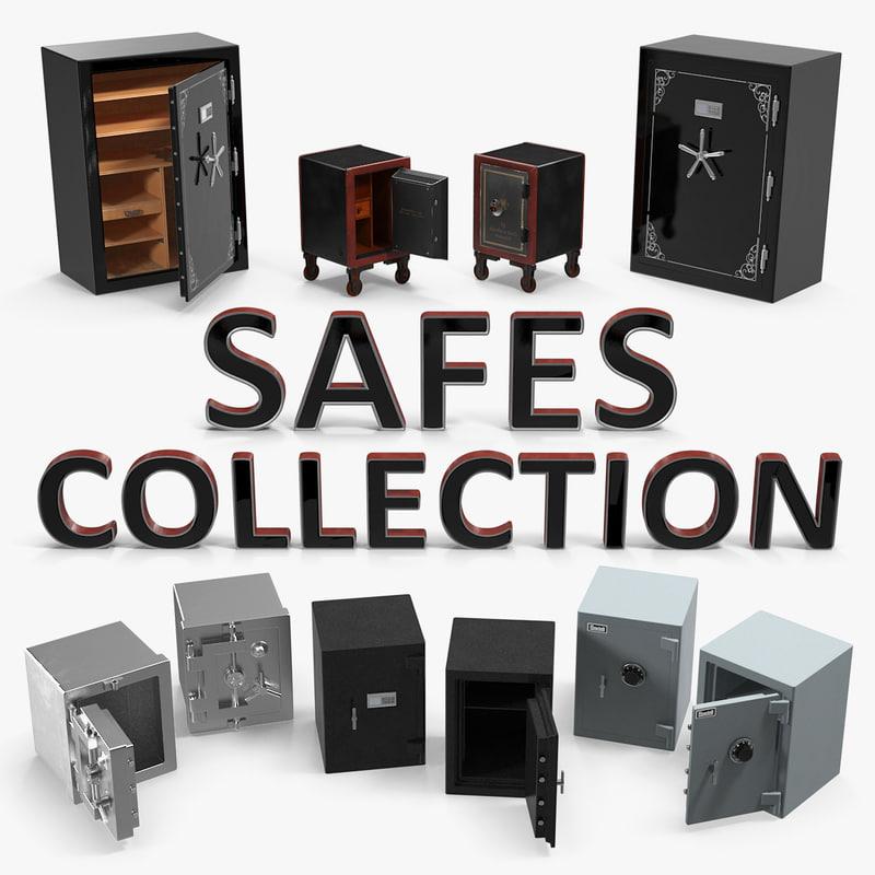 3D model safes 2