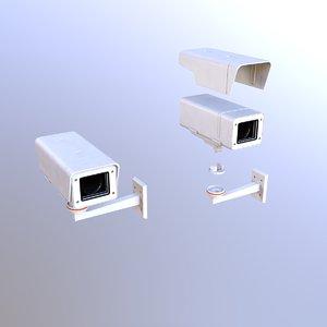 3D security camera model