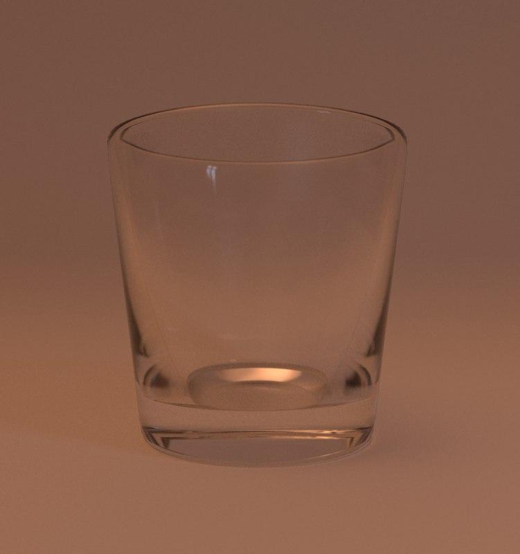 glassware pack glasses 3D model