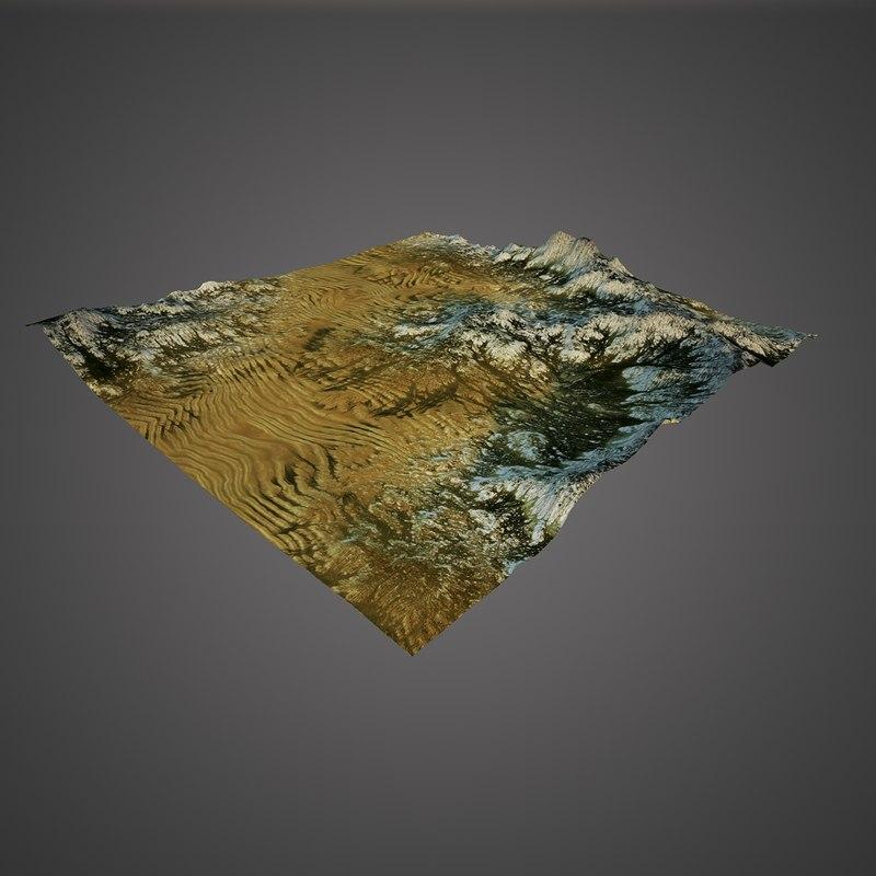 3D terrain 4