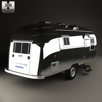 3D airstream flying cloud model