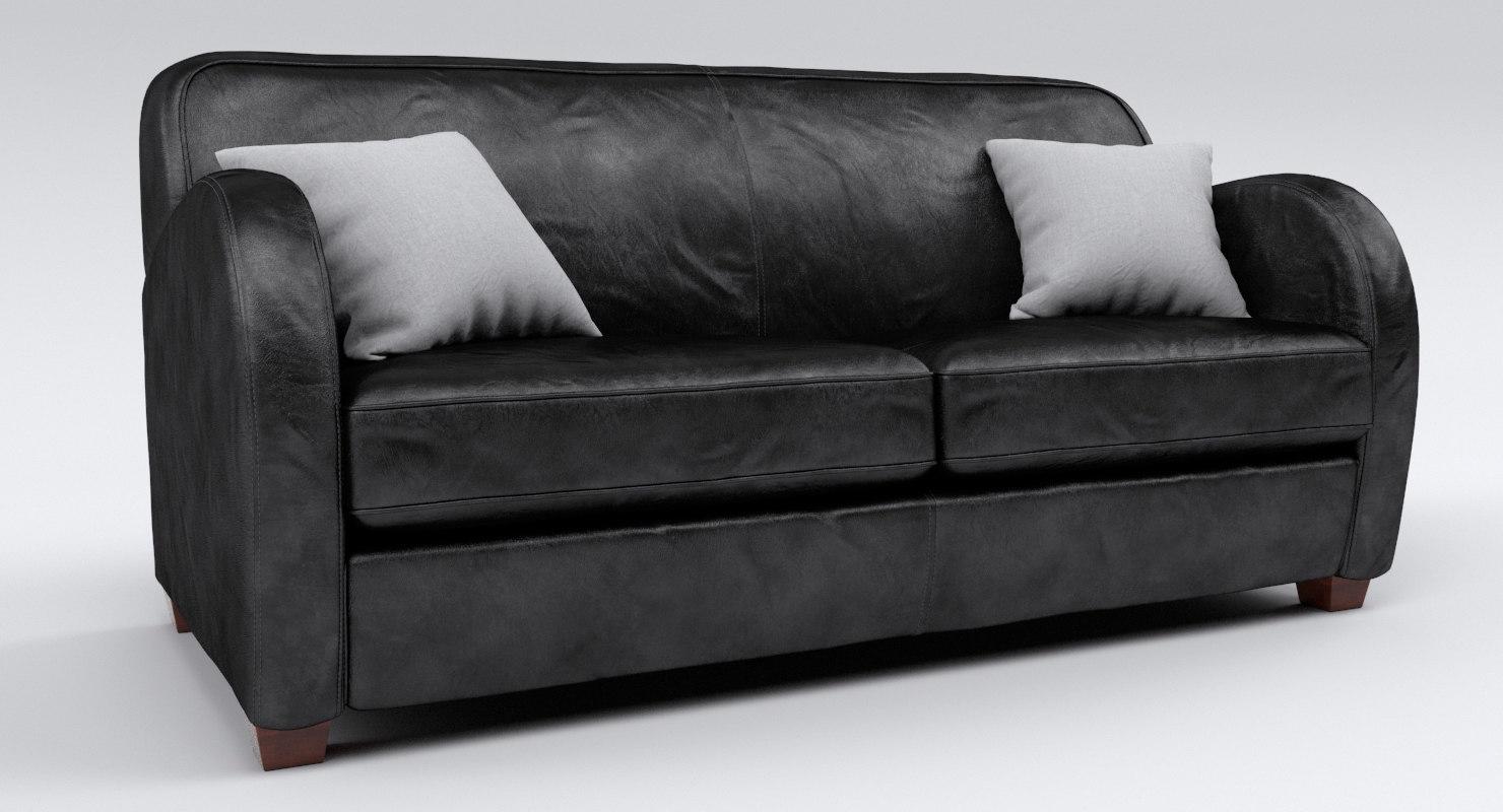 ikon sofa 3D model; ikon sofa 3D model ...