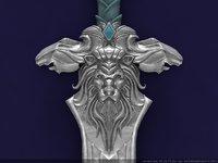 sword royal guard 3D