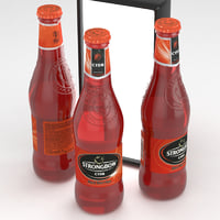 strongbow cider red berries 3D model