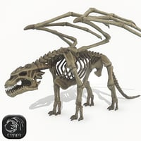 skeleton dragon model