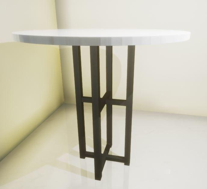 3D model bar table