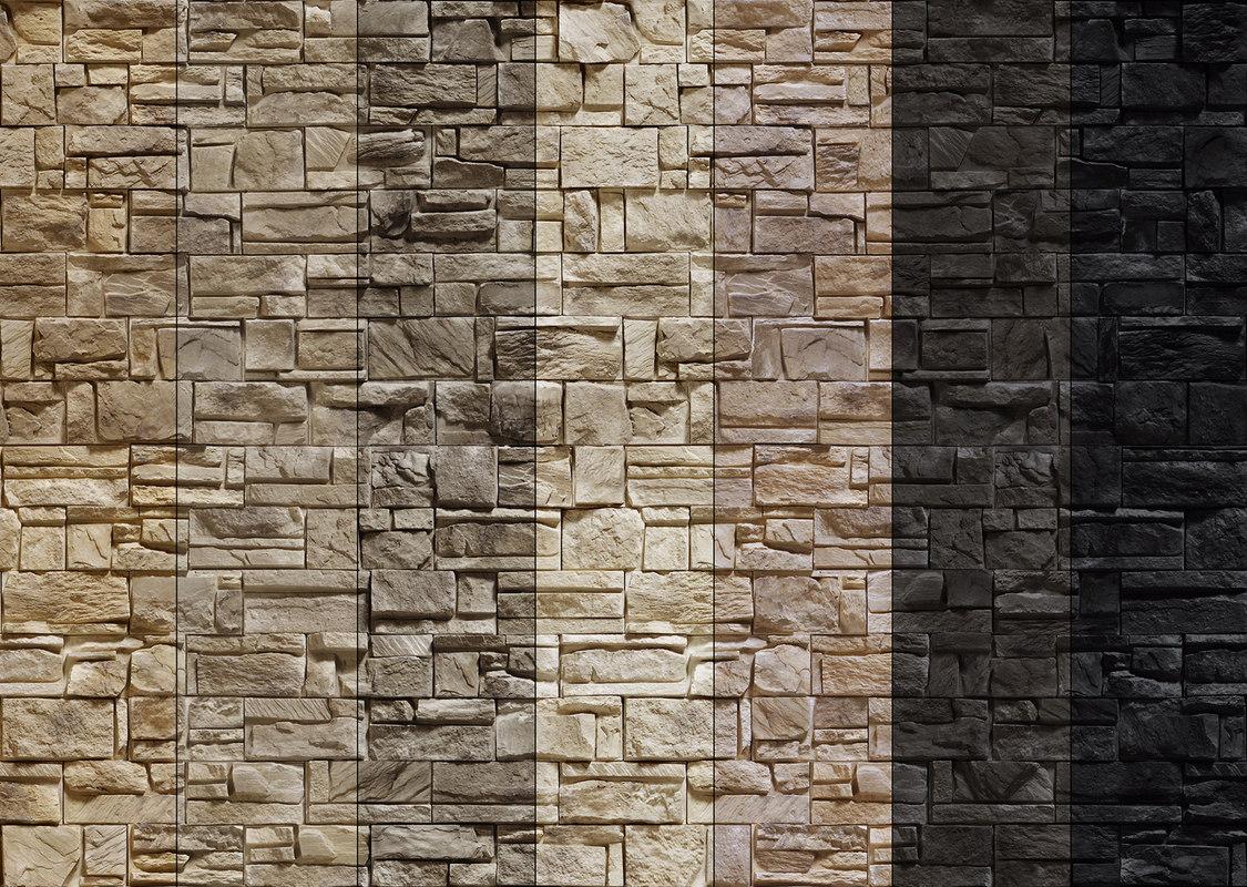Seamless Stone Wall 7 Model