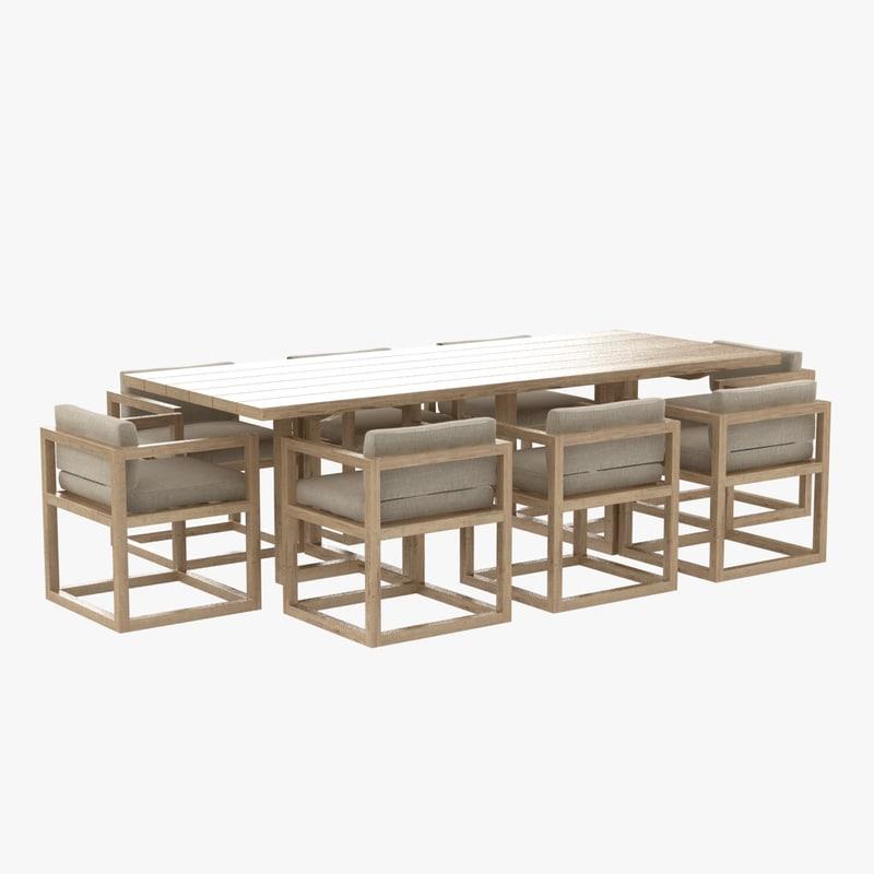 table restoration hardware aviara model