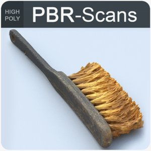3D scans brush model