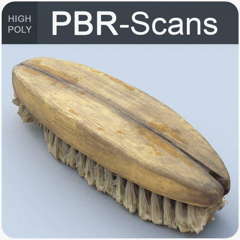 scans brush 3D