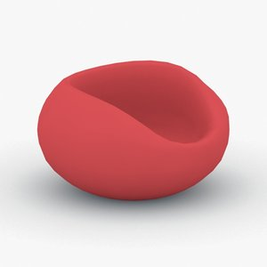 interior - chair office 3D model