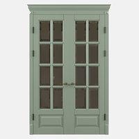 3D double door model