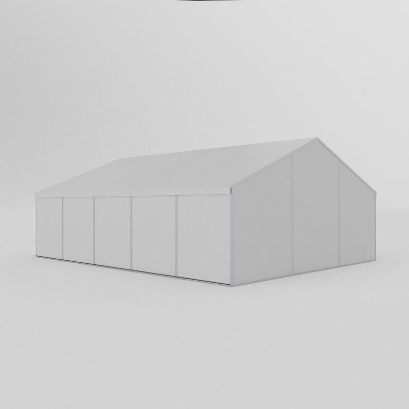 3D modular tent