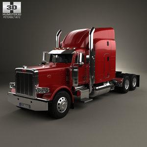 3D tractor 2007 truck