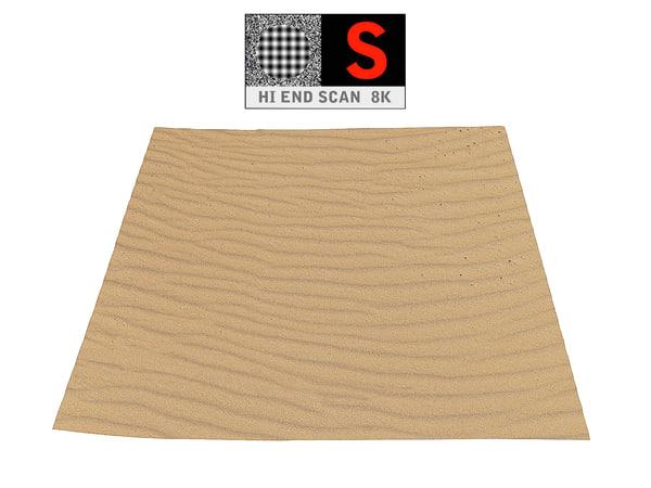 3D dune beach ground