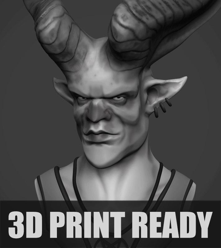 satan print model