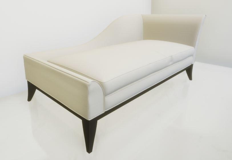 chaise loungue 3D model