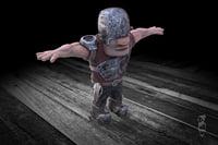 3D character pix model