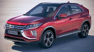 eclipse cross 2018 3D model